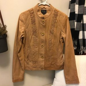 Leather Lucky Brand jacket